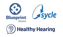 Blueprint OMS, Sycle, Healthy Hearing, and EarQ