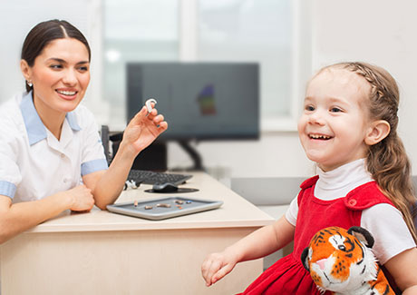 Pediatric audiology and hearing aids