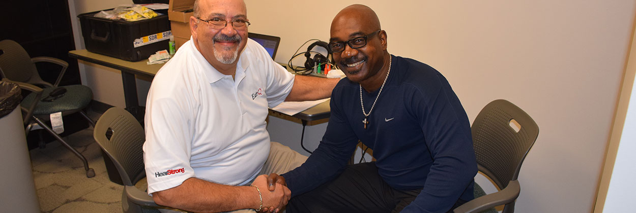 EarQ Member, Thomas Contento, BC-HIS, helps former players with their hearing healthcare.