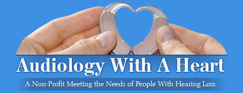 Audiology With A Heart logo