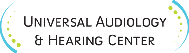 Universal Audiology and Hearing Aid Center logo