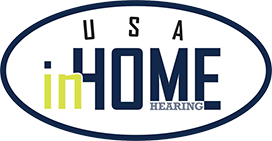 USA In-Home Hearing, P.S. logo
